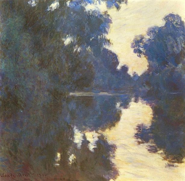 Morning on the Seine, 1896 - Claude Monet