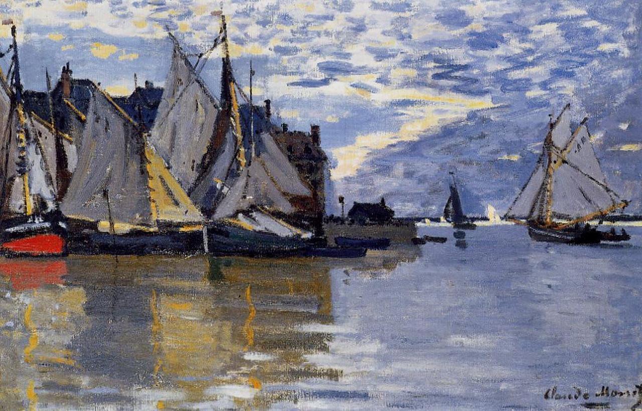 Sailboats, 1864-1866
