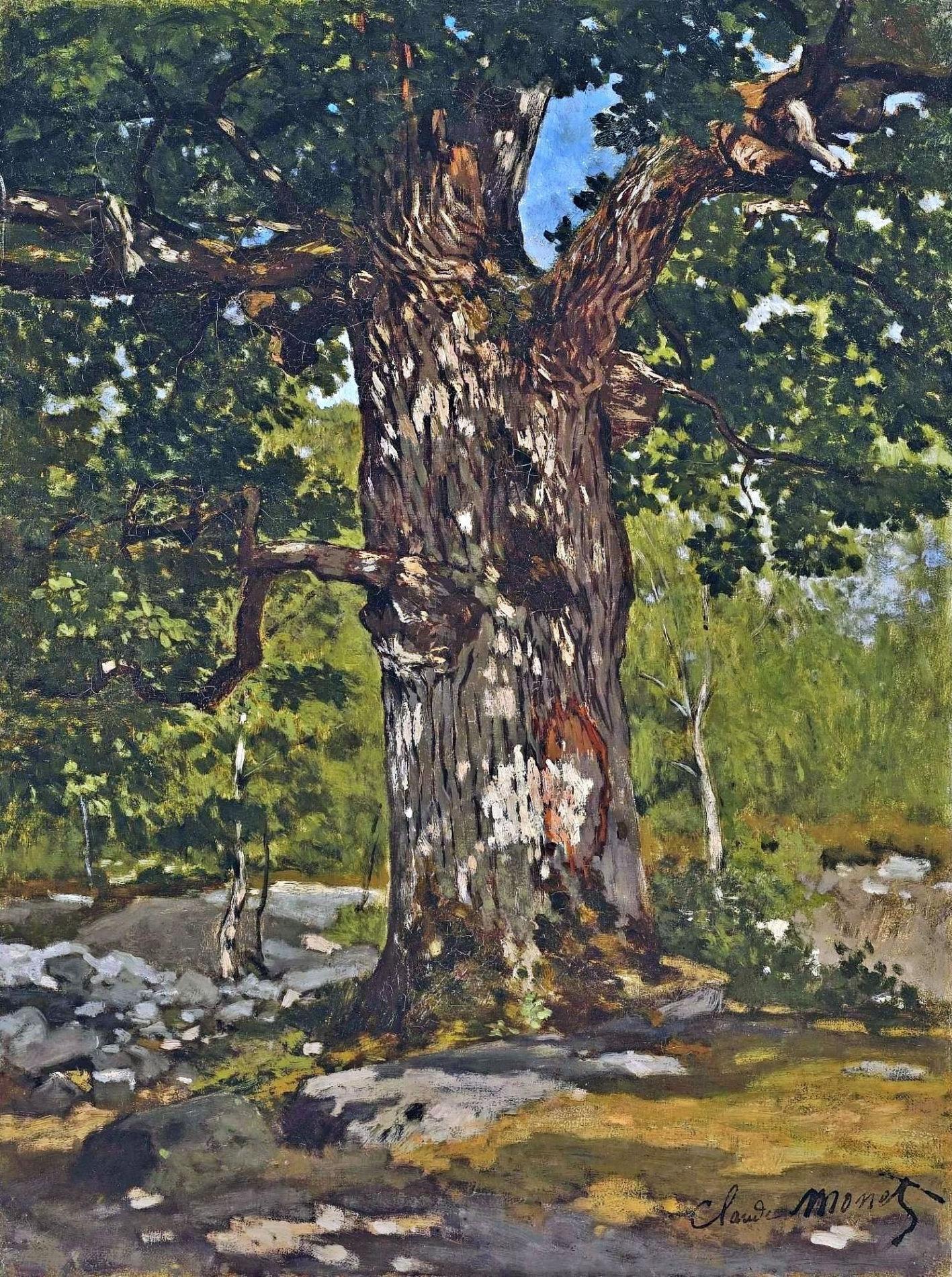 The Bodmer Oak, 1865