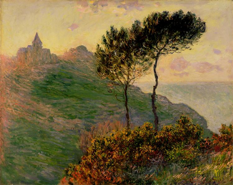 The Church at Varengeville, 1882 - Claude Monet