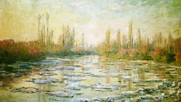 The Ice Floes - Monet Claude