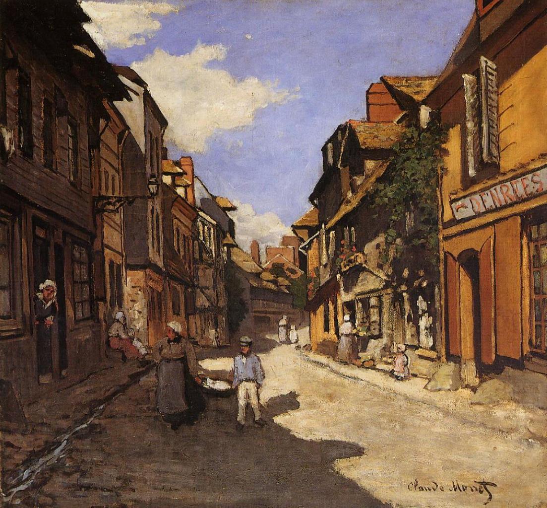TheLaRueBavolle at Honfleur 2, 1864