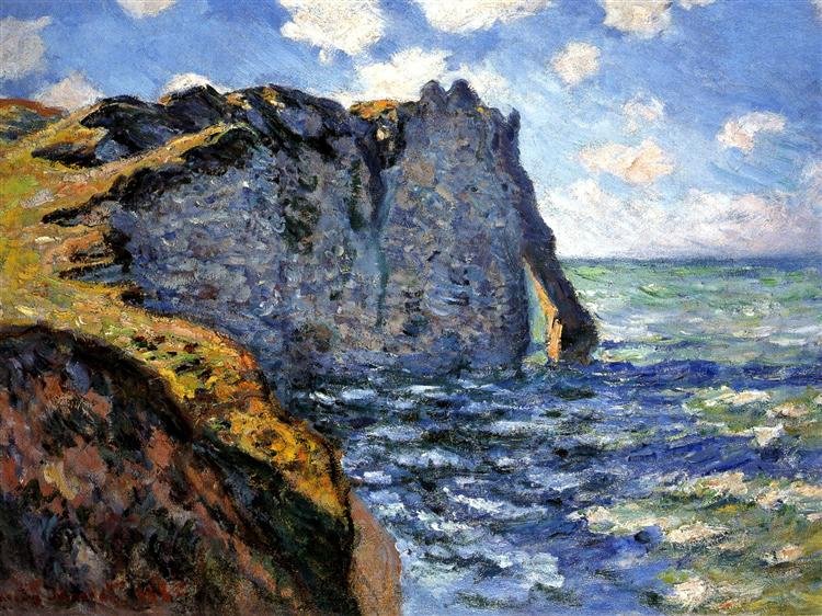 The Manneport, 1882 - Claude Monet