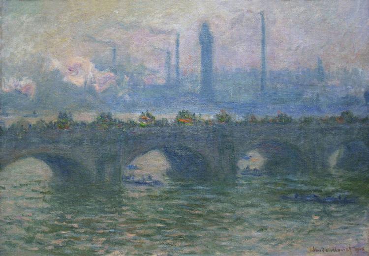 Waterloo Bridge - Monet Claude