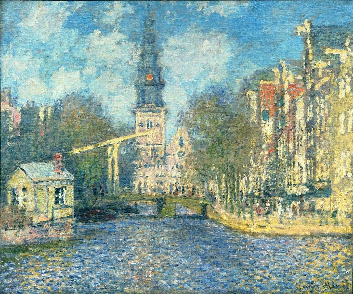 Image result for amsterdam monet painting