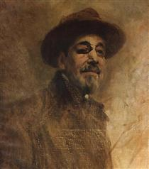 Self-portrait - Columbano Bordalo Pinheiro