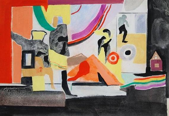 Untitled, 1963 - Conroy Maddox