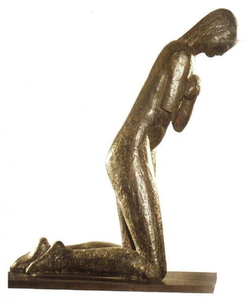 The Prayer, 1907 - Constantin Brancusi