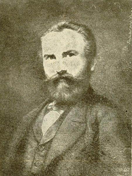 Self-portrait, 1871 - Constantin Stahi