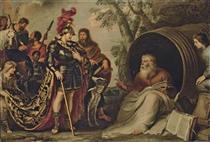 Alexander and Diogenes - Корнелис де Вос