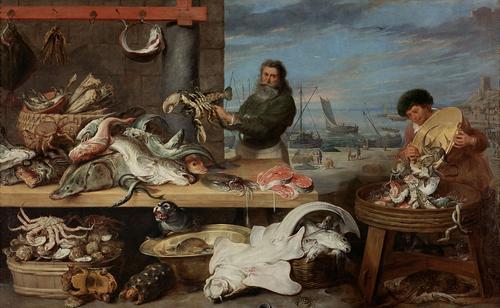 Fish Market, c.1620 - c.1630 - Cornelis de Vos