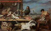 Fish Market - Корнелис де Вос