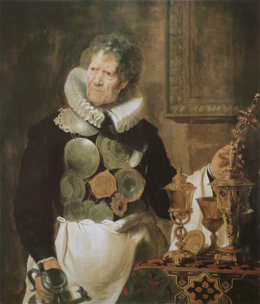Portrait of Abraham Grapheus, c.1620 - Cornelis de Vos