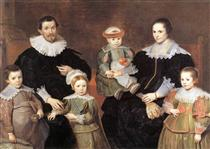 The Family of the Artist - Корнелис де Вос