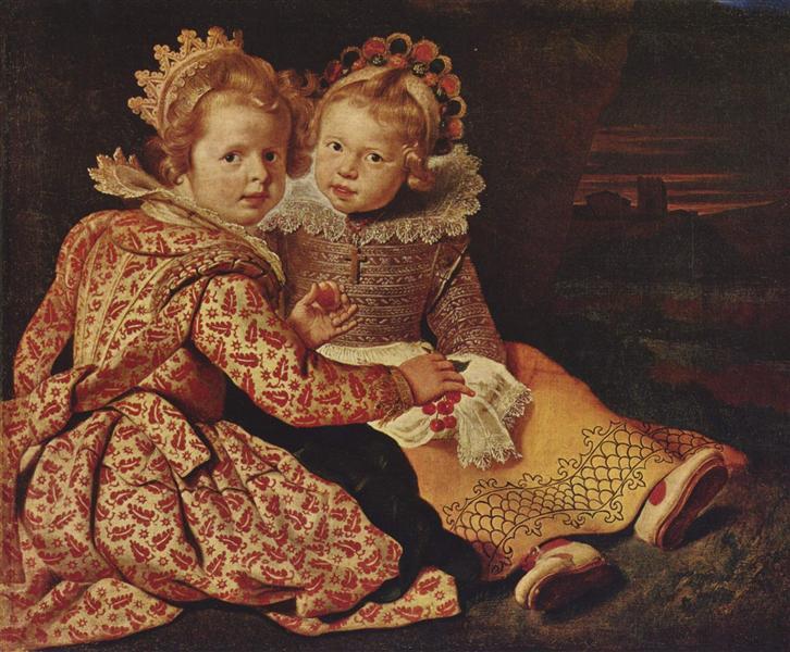 Magdalena and Jan-Baptist de Vos, Children of the Painter, c.1622 - Cornelis de Vos