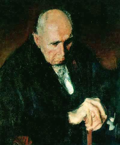 Portrait of the Art Collector Zambaccian - Corneliu Baba