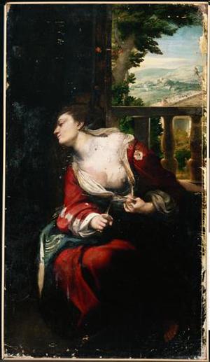 Lucretia, c.1520 - c.1530 - Correggio