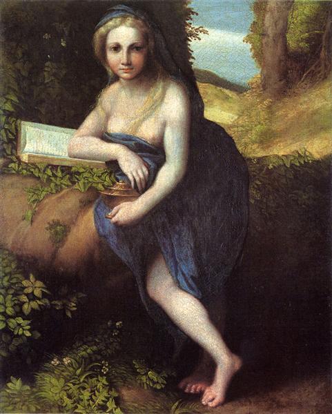 The Magdalene, c.1518 - c.1519 - Correggio