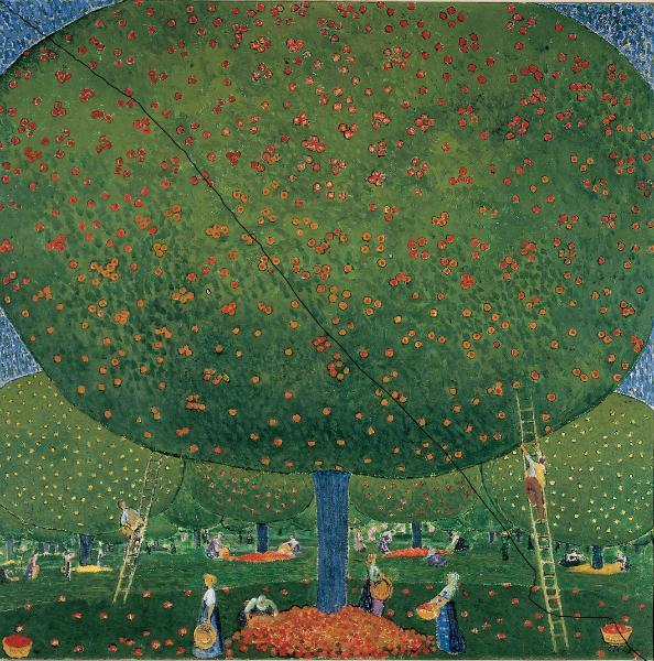 Apfelernte, 1907 - Cuno Amiet