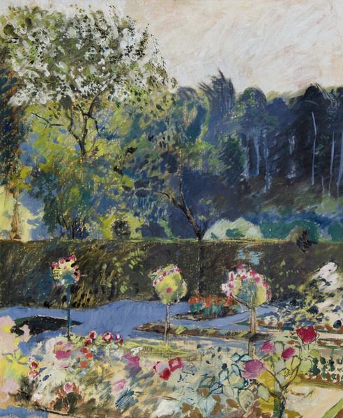 Garden with woodland, 1933