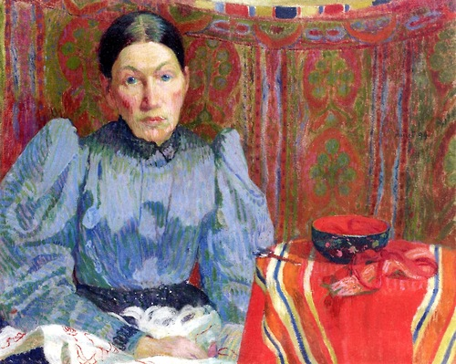 Portrait of Emilie Amiet-Baer, 1894