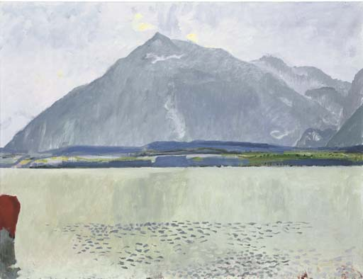 Thunersee mit Niesen, 1931