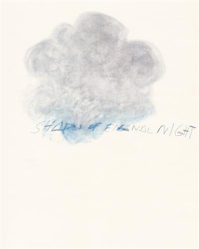 Fifty Days at Iliam. Shades of Eternal Night - Cy Twombly