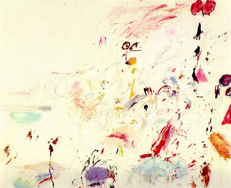 Bay of Naples, 1961 - Cy Twombly