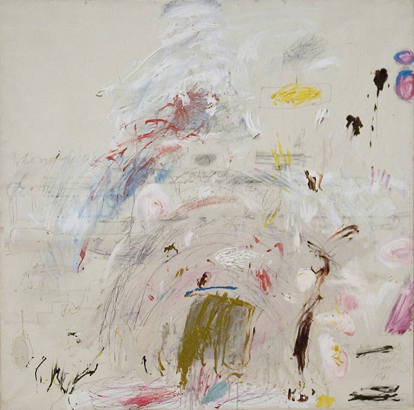 School of Athens, 1961 - Cy Twombly