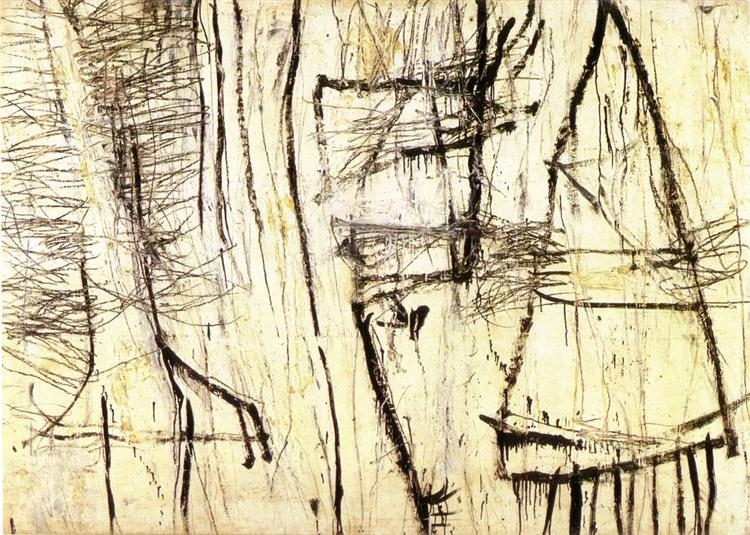 Tiznit, 1953 - Cy Twombly