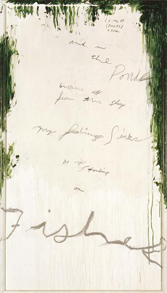 Untitled Part I, 1988 - Cy Twombly