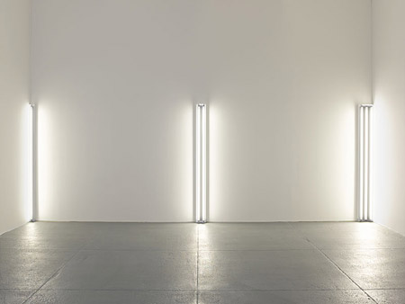 The nominal three (to William of Ockham), 1963 - Dan Flavin