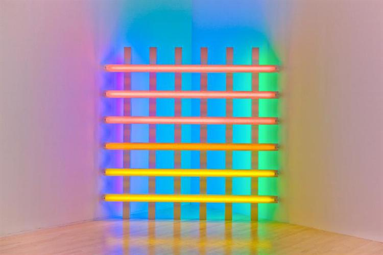 Untitled (in honor of Harold Joachim) 3, 1977 - Dan Flavin