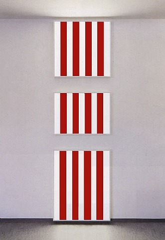Photo-souvenir: Three light boxes for one wall, 1989 - Даниель Бюрен