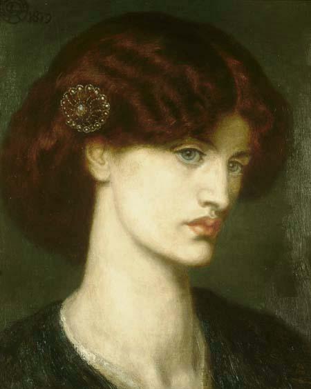 Beatrice, 1880 - Данте Габрієль Росетті