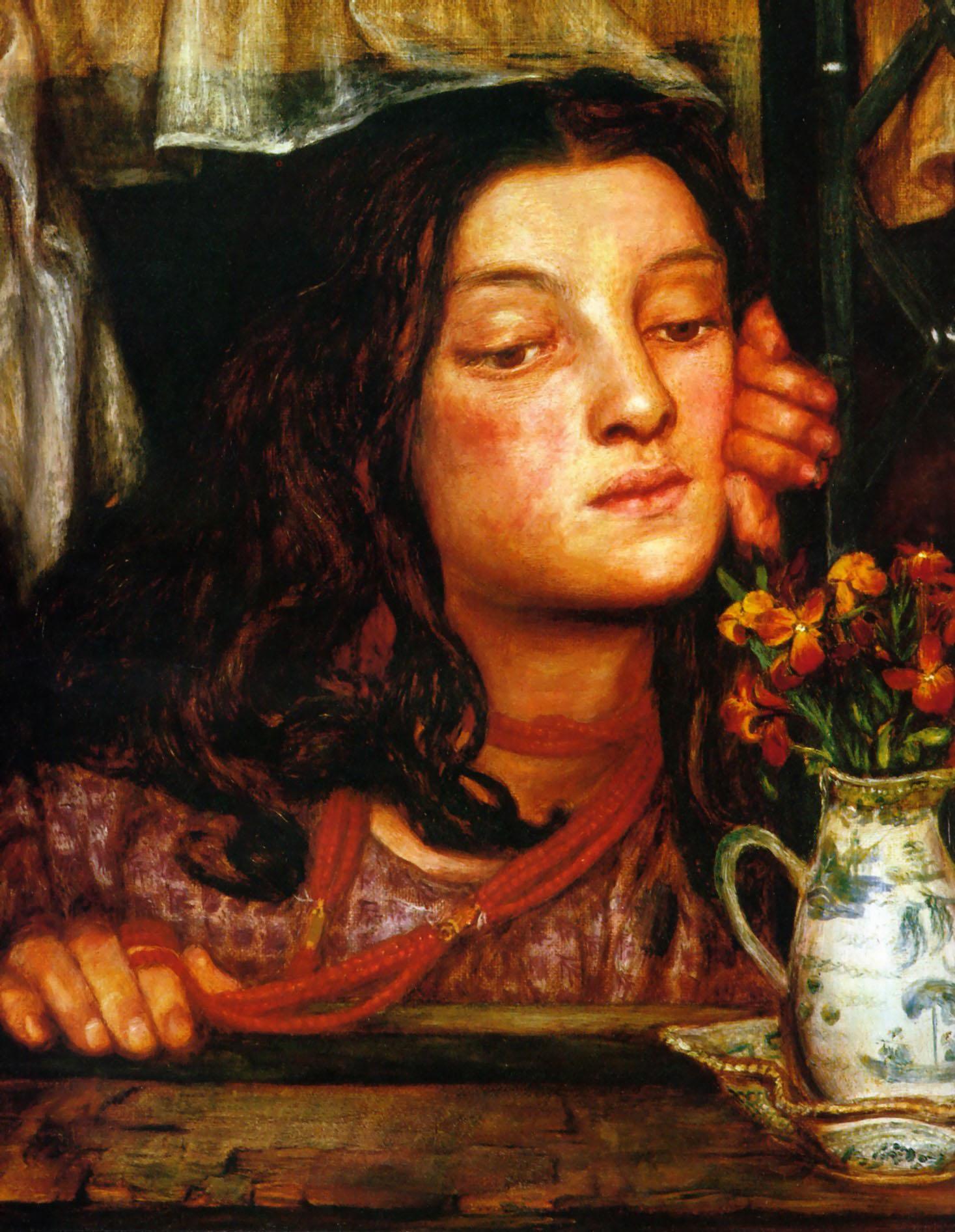 Girl at a Lattice, 1862