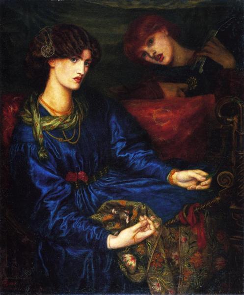 Mariana, 1870 - Dante Gabriel Rossetti