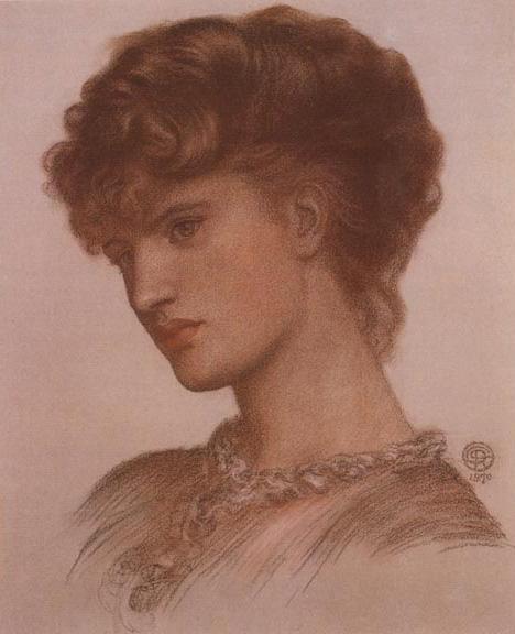 Portrait of Aflaia Coronio, 1870