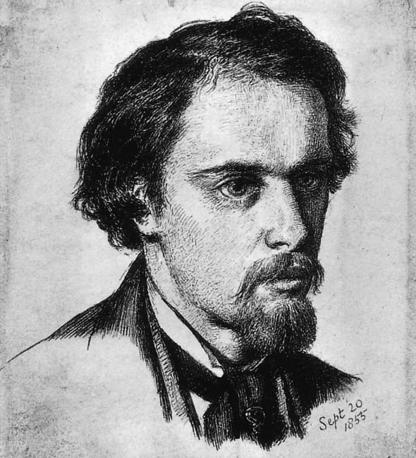 Self-Portrait, 1855