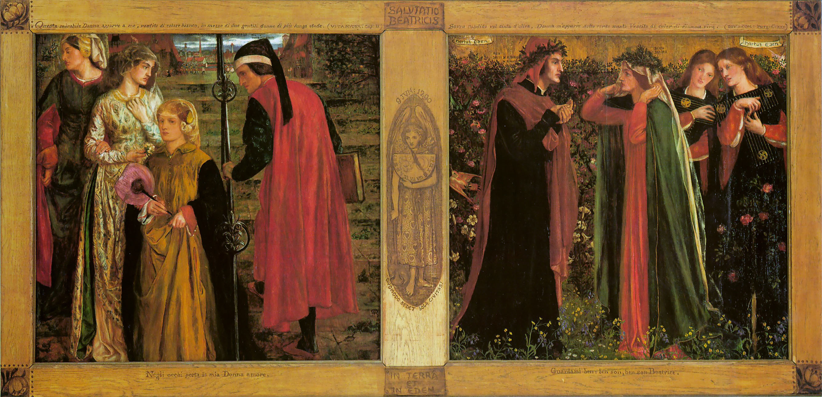 story of dante and beatrice