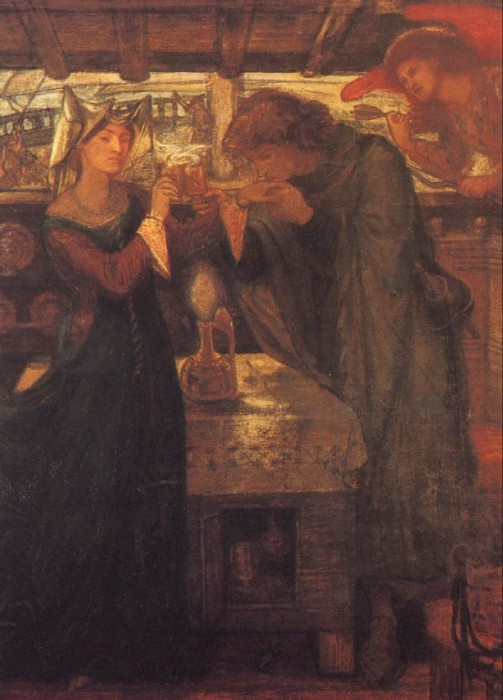 Tristram and Isolde Drinking the Love Potion, 1867