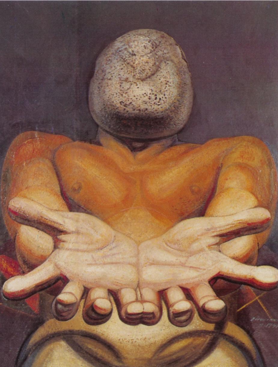 Our present image david alfaro siqueiros for El mural de siqueiros