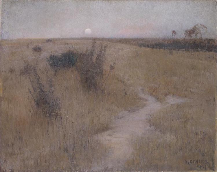 Moonrise, 1894 - David Davies
