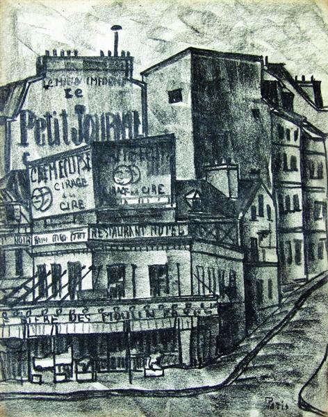 Paris, 1920 - David Kakabadze