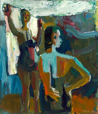 Two Bathers, 1958 - David Park