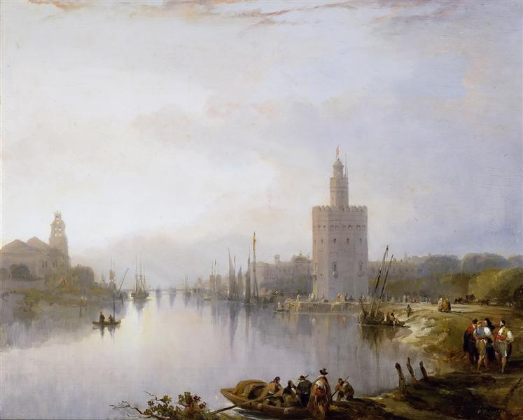 The Golden Tower, 1833 - David Roberts