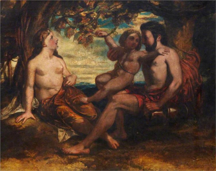 Mythological Group, 1840 - David Scott
