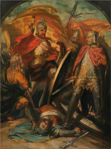 Sir William Wallace (triptych, centre panel), 1843 - David Scott