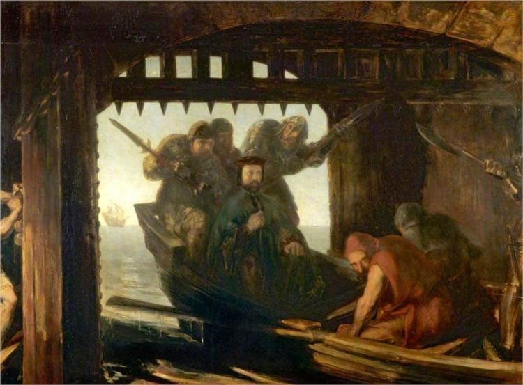 The Traitor's Gate, 1842 - David Scott