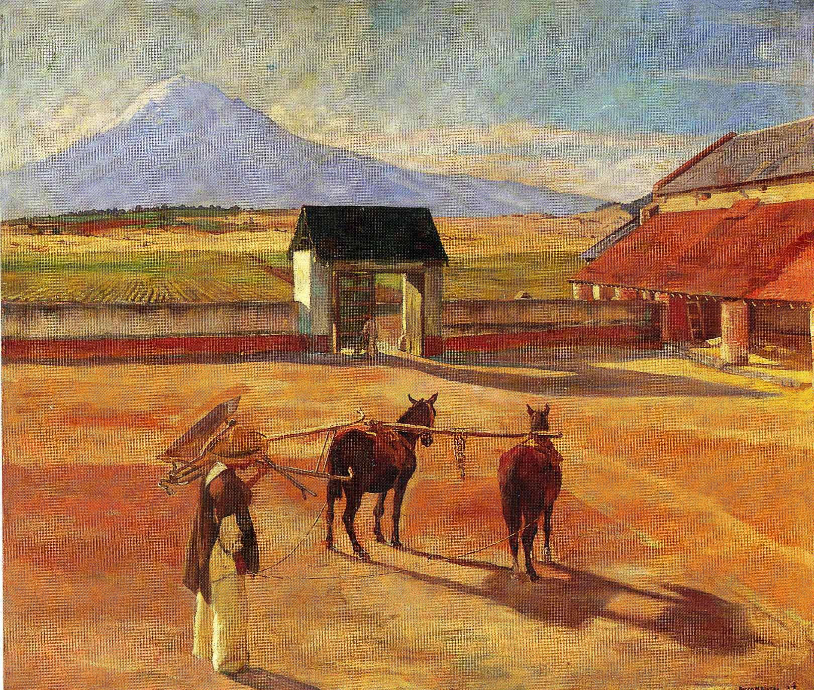 La Era (The Threshing Floor) 1904 (oil on canvas), 1904